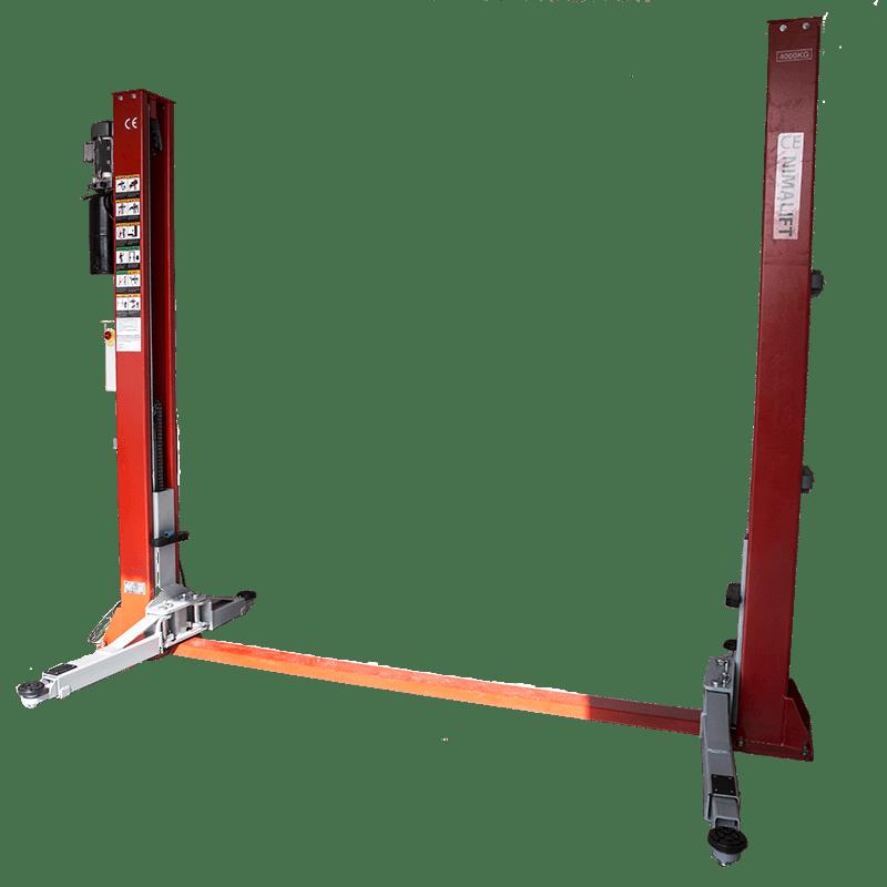Manual - Deluxe 2-søjlet autolift - 4000kg