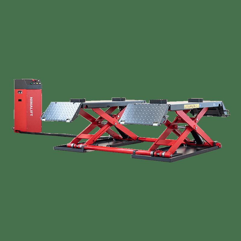 Manual - Deluxe saxlift til klargøring - 3000kg